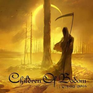CHIDLREN OF BODOM CD ART CHAOS 7-27-15