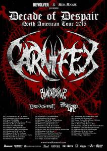 Carnifex poster 2015