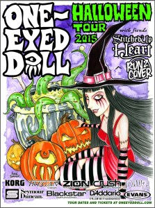 ONE EYED DOLL HALLOWEEN TOUR 7-21-15