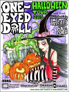 ONE EYED DOLL HALLOWEEN TOUR 7-21-15