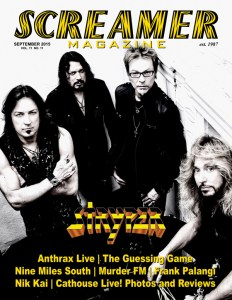 Screamer Magazine September 2015