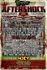 Slipknot aftershock 2015 med