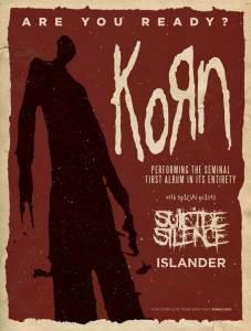 SUICIDE SILENCE KORN TOUR POSTR 10-6-15