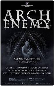 Arch Enemy Poster 2016