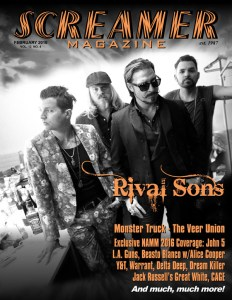Screamer Magazine February 2016