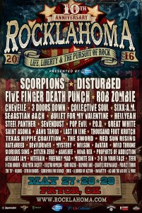 Rocklahoma 2016 poster