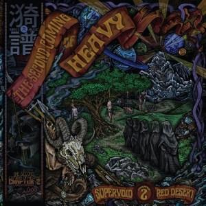Supervoid and Red Desert - cd art split release - 2-18-16