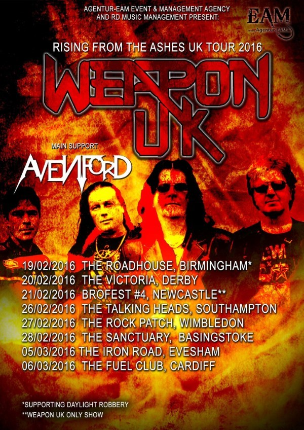 Weapon UK poster