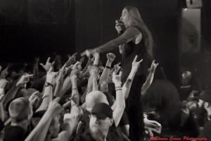 DEVILDRIVER - live shot from FB - 3-11-16