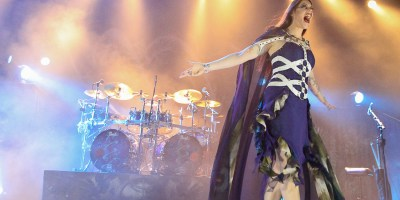 Nightwish perform at City National Grove of Anaheim, CA on March 12th, 2016 (Photos by Ron Lyon)