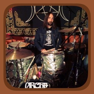 Orchid drummer