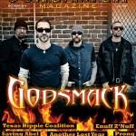 Cover Godsmack October 2014 BRETT