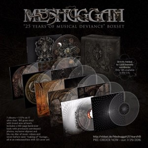 Meshuggah box set