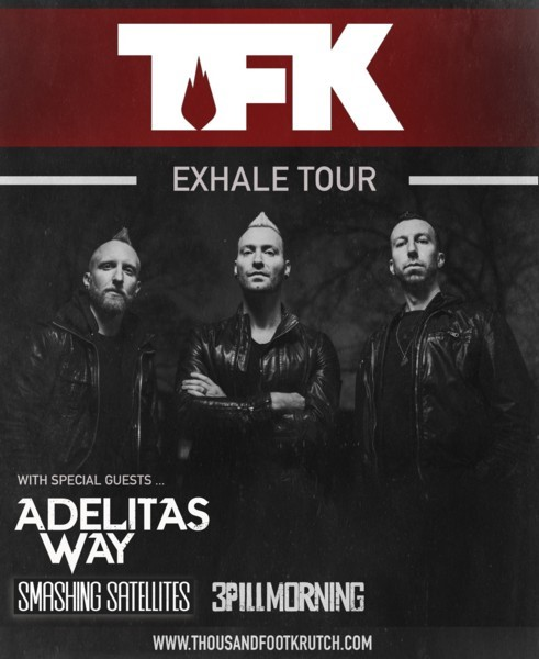 "Thousand Foot Krutch Releases ""Push"" To Radio July 12"