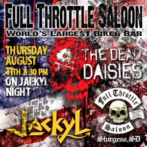 The Dead Daisies Sturgis Poster