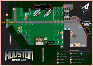 Houston Open Air 2016 MAP