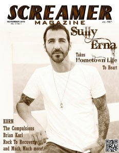 Screamer Magazine November 2016
