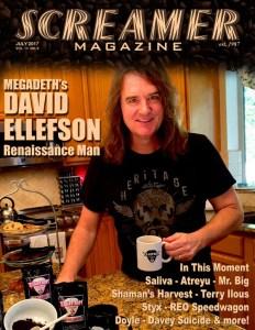 Screamer Magazine July 2017