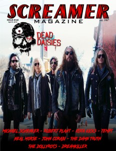 Screamer Magazine Issue #140 – April 6, 2018