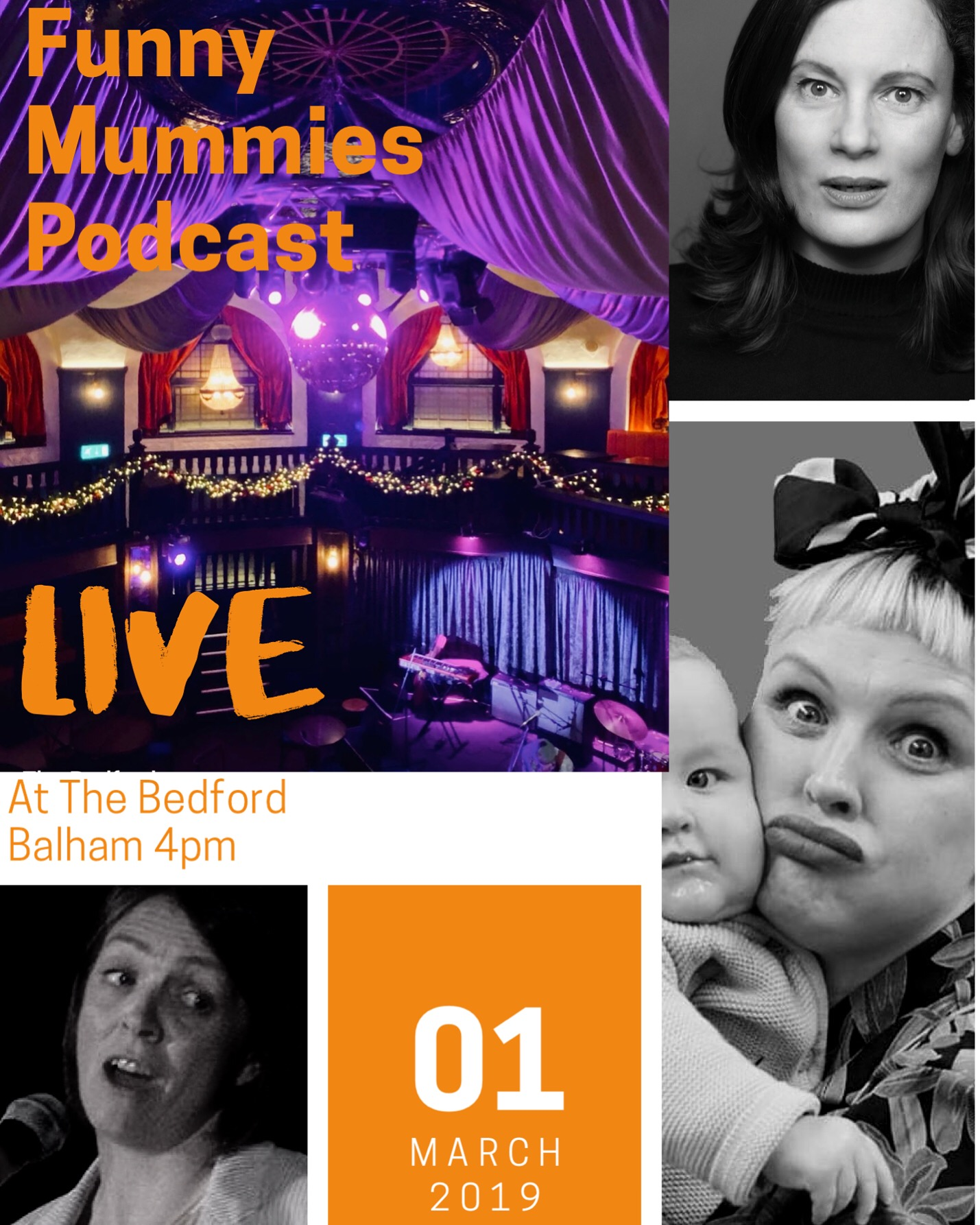 Funny Mummies Podcast Live