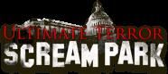 Ultimate Terror Scream Park logo on mobile.