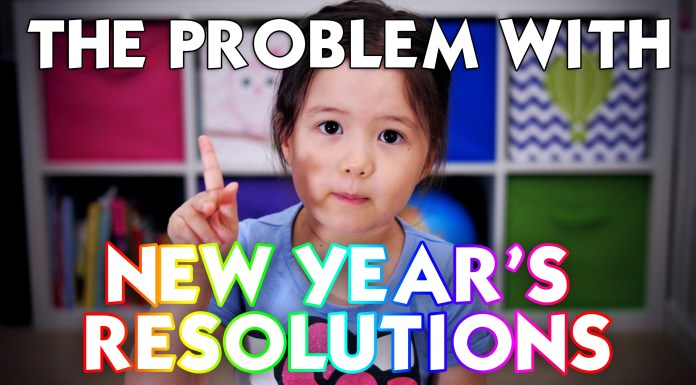 New Year Resolutions - Nuggets of Wisdom from 4 Year Old