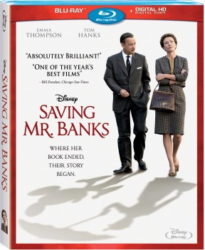 [Blu-Ray Review]'Saving Mr. Banks' is genuinely moving, heartfelt and at times even hilarious; Now available on Blu-Ray & DVD from Disney 1