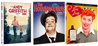 [Blu-Ray Review] 3 TV Classics: 'I Love Lucy' 'The Andy Griffith Show' & 'The Honeymooners' Come Home In Stunning HD; Own All 3 On Blu-Ray Today From CBS & Paramount 8