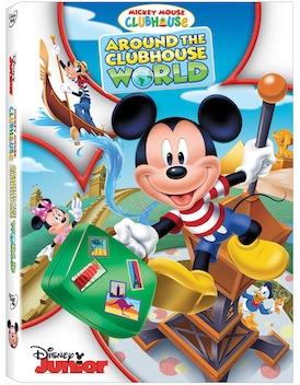 [DVD Review] 'Mickey Mouse Clubhouse: Around The Clubhouse World'; Now Available On DVD From Disney Junior 3