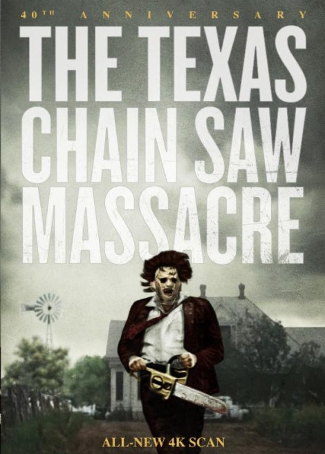"""THE TEXAS CHAIN SAW MASSACRE 40th ANNIVERSARY""  DVD BOX"