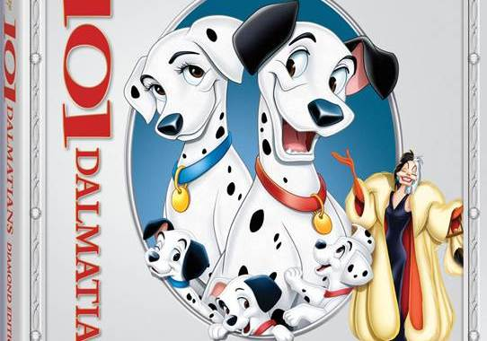 Disney's 101 Dalmatians Will be Spotted on Diamond Edition Blu-Ray February 10th 21