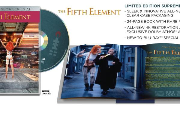 Sony's Limited Edition Supreme Cinema Series Line Expands With 'The Fifth Element' & 'Leon The Professional'; On Blu-Ray October 27 From Sony 10