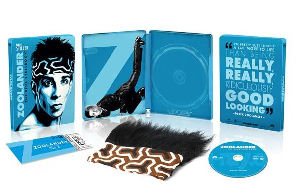 [Blu-Ray Review] 'Zoolander: The Blue Steelbook' Giftset: Now Available Exclusively At Wal-Mart From Paramount 24