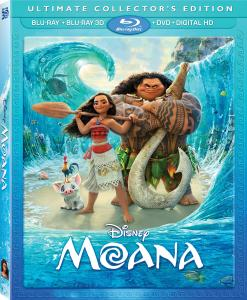 [Blu-Ray Review] 'Moana 3D': Now Available On Blu-ray 3D, Blu-ray, DVD & Digital HD From Disney 1