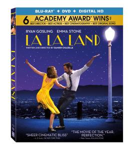 'La La Land'; Arrives On Digital HD April 11 & On 4K Ultra HD, Blu-ray & DVD April 25, 2017 From Lionsgate 1