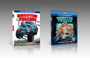 'Monster Trucks'; Arrives On Digital HD March 28 & On Blu-ray Combo Pack & DVD April 11, 2017 From Paramount 1