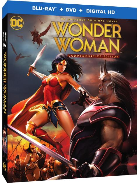 'Wonder Woman: Commemorative Edition'; The Animated Film Returns To Blu-ray & DVD May 16, 2017 From DC & Warner Bros 3