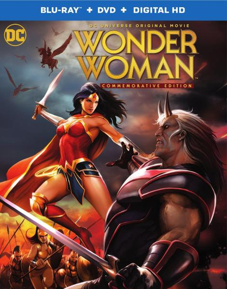 'Wonder Woman: Commemorative Edition'; The Animated Film Returns To Blu-ray & DVD May 16, 2017 From DC & Warner Bros 4