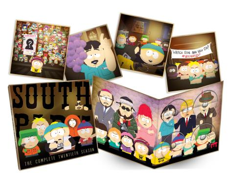 'South Park: The Complete Twentieth Season'; Arrives On Blu-ray & DVD June 13, 2017 From Paramount 2