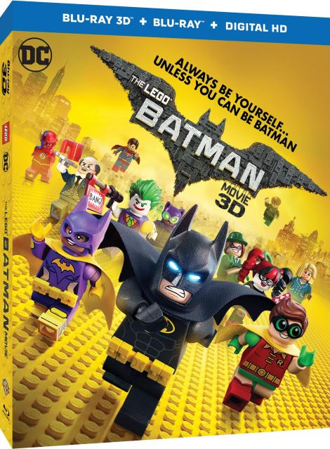 'The Lego Batman Movie'; Arrives On Digital HD May 19 & On 4K Ultra HD, Blu-ray 3D, Blu-ray & DVD June 13, 2017 From Warner Bros 3