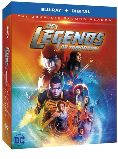 'DC's Legends Of Tomorrow: The Complete Second Season'; Arrives On Blu-ray & DVD August 15, 2017 From DC Comics & Warner Bros 2