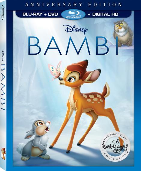 Disney's Beloved Classic 'Bambi' Joins The Walt Disney Signature Collection; Arrives On Digital HD May 23 & On Blu-ray & DVD June 6, 2017 From Disney 3