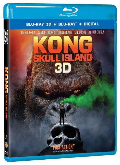'Kong: Skull Island'; Arrives On Digital June 20 & On 4K Ultra HD, Blu-ray 3D, Blu-ray & DVD July 18, 2017 From Warner Bros 5