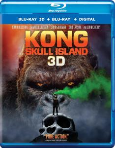 [Blu-Ray Review] 'Kong: Skull Island' 3D: Now Available On 4K Ultra HD, Blu-ray 3D, Blu-ray, DVD & Digital From Warner Bros 1