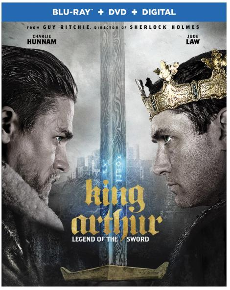 'King Arthur: Legend Of The Sword'; Arrives On Digital July 25 & On 4K Ultra HD, Blu-ray 3D, Blu-ray & DVD August 8, 2017 From Warner Bros 4
