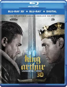 'King Arthur: Legend Of The Sword'; Arrives On Digital July 25 & On 4K Ultra HD, Blu-ray 3D, Blu-ray & DVD August 8, 2017 From Warner Bros 1