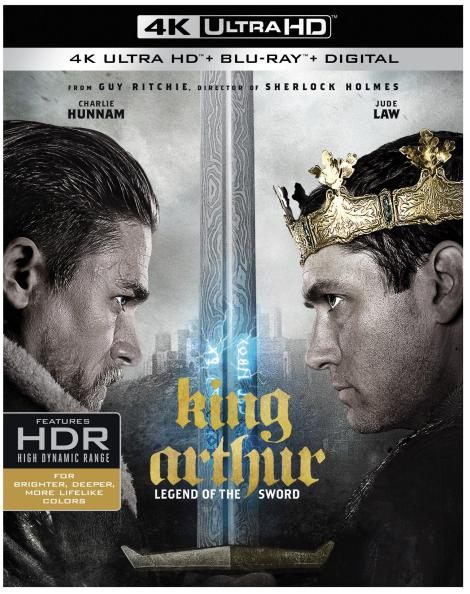 'King Arthur: Legend Of The Sword'; Arrives On Digital July 25 & On 4K Ultra HD, Blu-ray 3D, Blu-ray & DVD August 8, 2017 From Warner Bros 2