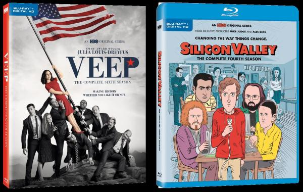 'Veep: Season Six' & 'Silicon Valley: Season Four'; Both Arrive on Digital HD This Month & On Blu-ray & DVD September 12, 2017 From HBO 1