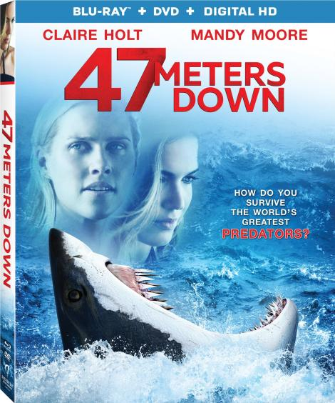 '47 Meters Down'; Arrives On Digital HD September 12 & On Blu-ray & DVD September 26, 2017 From Anchor Bay - Lionsgate 4