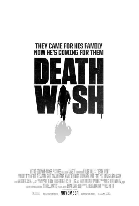 Bad Guys Beware; The First Trailer & Poster For Eli Roth's 'Death Wish' Remake Are Here 2